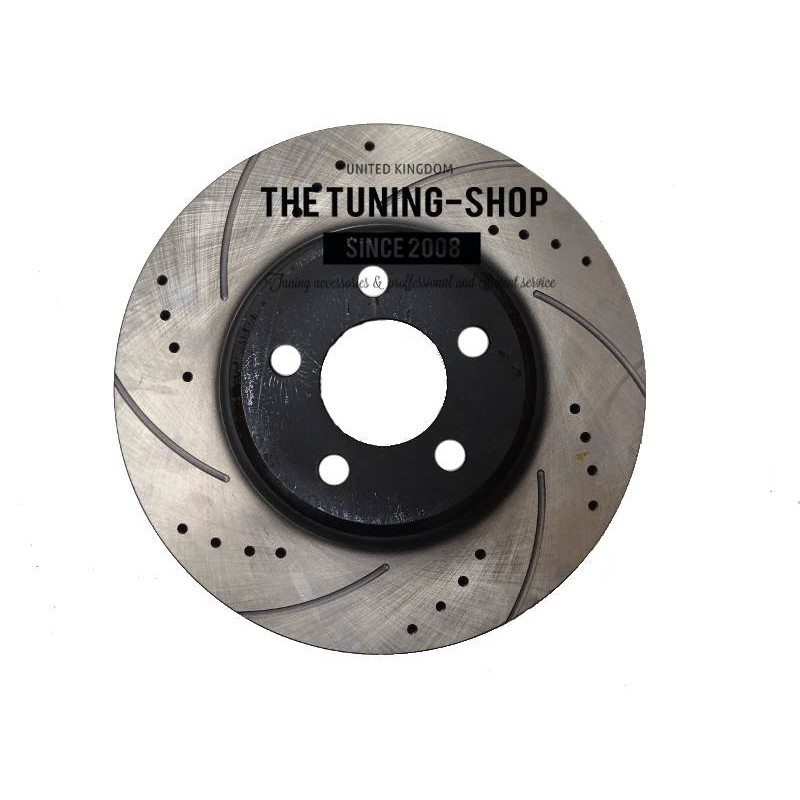 Front Brake Disc Rotors A Diameter Mm Drilled Slotted For Chrysler C Dodge Charger Challenger