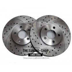 Front Disc Brake Rotors 53000A Diameter 280mm for Chrysler Pt Cruiser