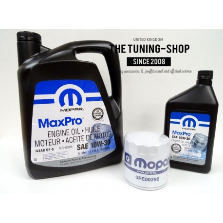Engine Oil Filter Mopar Mineral Engine Oil Sae 10w 30 Maxpro For Chrysler The Tuning Shop Ltd