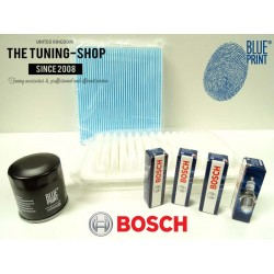 Premium Service Kit for Toyota Avensis T25 1.6 VVT-i Petrol 03-08 Air Cabin Oil Filter & Spark Plugs New
