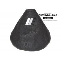 FOR BMW E36 E46 HANDBRAKE GAITER E BRAKE BOOT GREY GENUINE LEATHER M3 GREY STRIPES