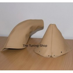 MAZDA MX-5 MX5 MIATA 89-03 GAITERS BOOTS BEIGE TAN LEATHER NEW