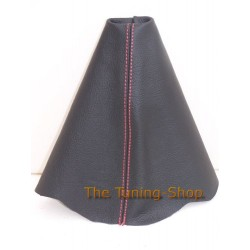 VW NEW BEETLE GEAR GAITER SHIFT BOOT RED STITCH NEW