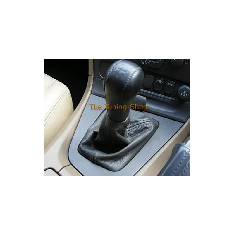 For Volvo S V Gear Stick Shift Leather Gaiter Shifter Boot on 2001 volvo v70 shifter boot