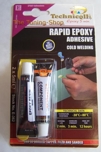 1 X Epoxy Adhesive Glue Rapid 5 Min For Metal Wood Glass