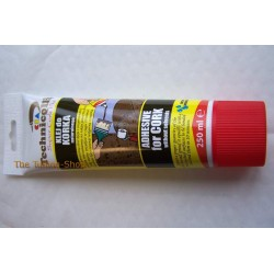 1 x 250ml NEW BROWN ADHESIVE GLUE FOR A NATURAL CORK WALLPAPER FLOOR DECORATIONS etc. TECHNICQLL