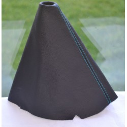 FORD B-MAX 2012-2015 GEAR GAITER TURQUOISE STITCHING