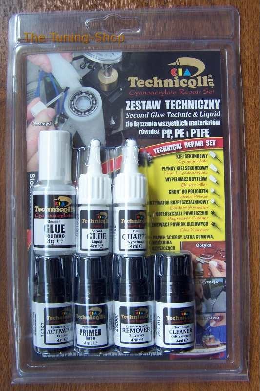 1 x CIA TECHNICAL PREMIUM KIT ADHESIVE GLUE ACTIVATOR REMOVER PRIMER FILLER  UNIVERSAL TECHNICQLL NEW - The Tuning Shop Ltd