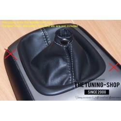 HYUNDAI I30 2007-2011 GEAR GAITER BLACK LEATHER