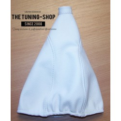 FOR MG ZR 2003-2005 GEAR GAITER WHITE LEATHER