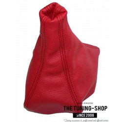 FOR Mitsubishi 3000 GT Z16A / GTO 1991-2000 MANUAL GEAR GAITER RED LEATHER