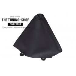 FOR AUDI A6 / S6 C5 4B 1997-2001 GEAR GAITER BLACK GENUINE LEATHER SHIFT BOOT NEW