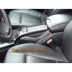 BMW X5 98-06 HANDBRAKE GAITER E BRAKE BOOT BLACK REAL LEATHER