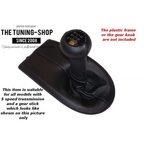 FOR PORSCHE BOXSTER 986 1996-2004 5 SPEED SHIFT BOOT BLACK GENUINE ...