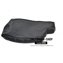 FOR BMW 3 SERIES E90 E91 E92 E93 BLACK LEATHER ARMREST COVER