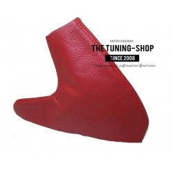 FOR  MG MGF MG TF MK1 MK2 HANDBRAKE GAITER DARK RED LEATHER NEW