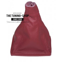 FOR ROVER 200 or 25 96-02 GEAR GAITER RED LEATHER