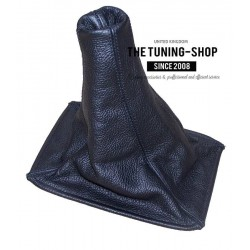 FOR ROVER 200 or 25 96-02 GEAR GAITER BLACK LEATHER