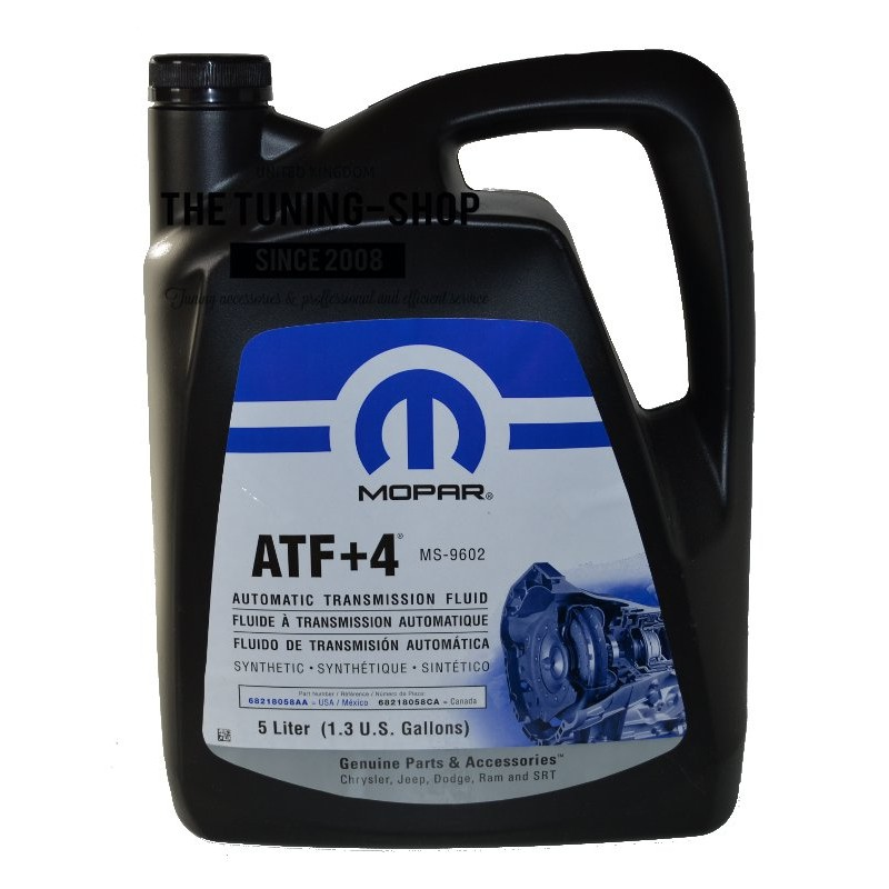 Original Mopar Atf 4 5l Automatic Transmission Fluid For