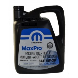 ORIGINAL MOPAR ENGINE OIL SAE 5W-30 MaxPro 5L FOR CHRYSLER DODGE JEEP PLYMOUTH FIAT NEW