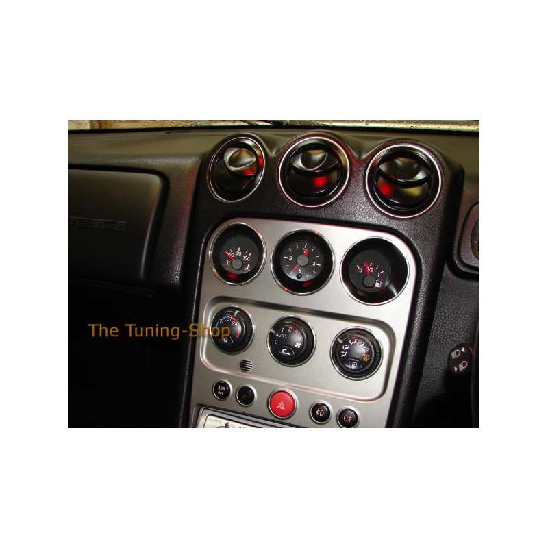 FOR ALFA ROMEO GTV SPIDER 03-05 ALU RINGS FOR OIL FUEL