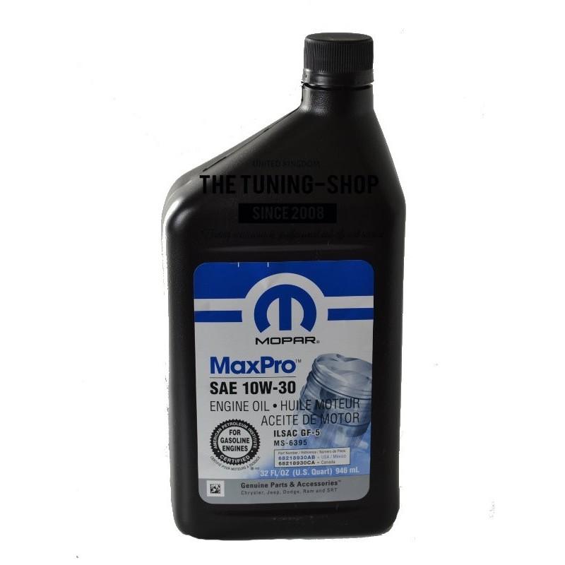 Original Mopar Mineral Engine Oil Sae 10w 30 Maxpro 5l 0
