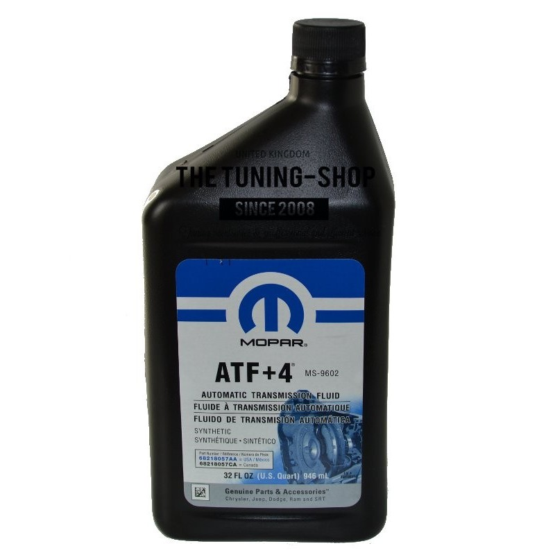 ORIGINAL MOPAR ATF+4 5L + 0.946L AUTOMATIC TRANSMISSION FLUID FOR CHRYSLER DODGE JEEP NEW - The ...