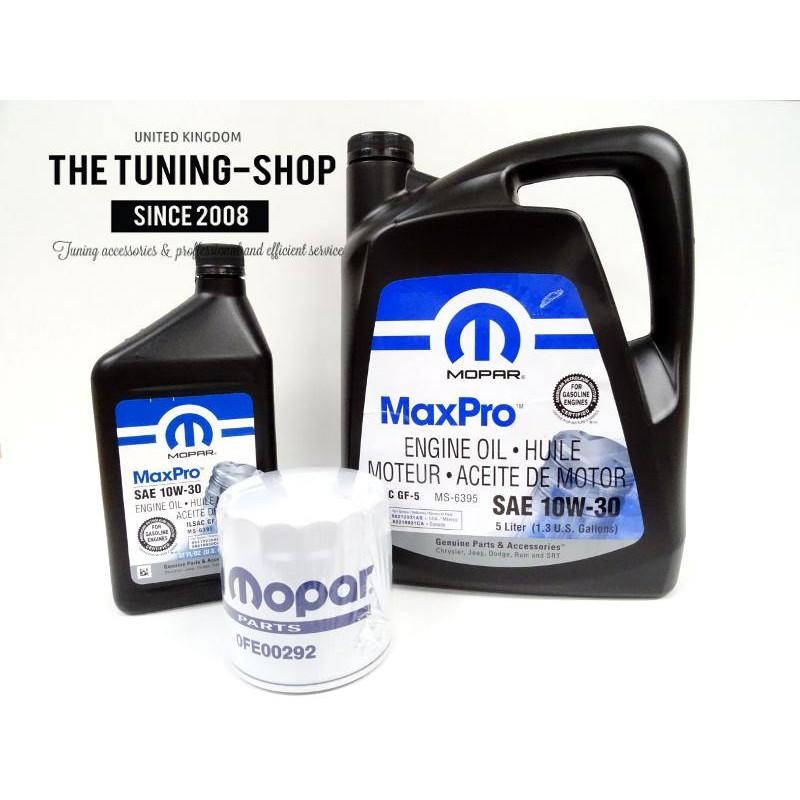 Engine oil filter mopar mineral engine oil sae 10w 30 for Chrysler 300 motor oil