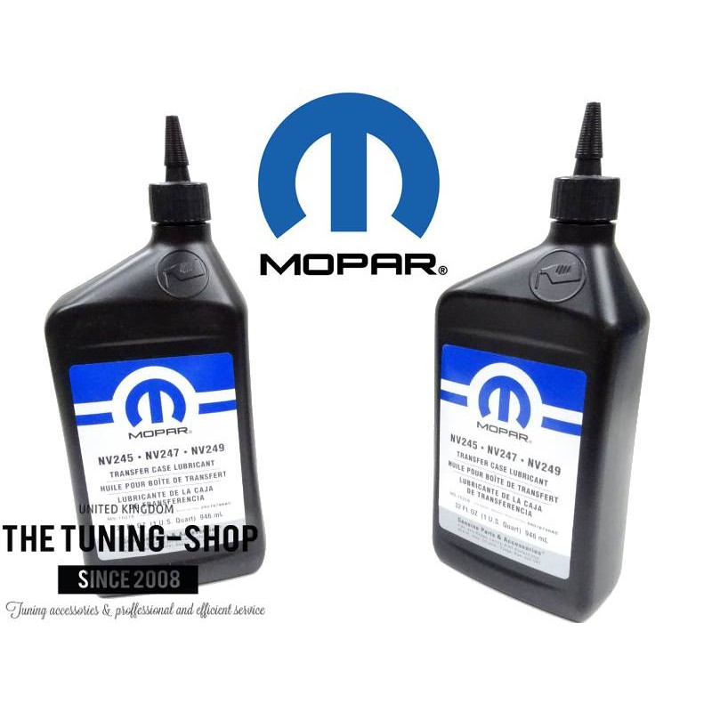 dodge transfer case fluid type
