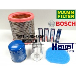 Premium Service Kit for Citroen Saxo 1.6 VTL VTR 88HP 96-03 Air Cabin Fuel Oil Filter & Spark Plugs New