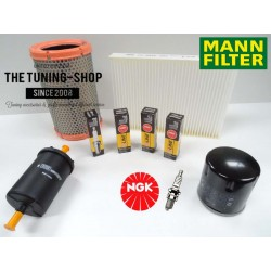 Premium Service Kit for Renault Clio MK2 1.2 60HP 1998-05.2000 Air Cabin Fuel Oil Filters & Spark Plugs New