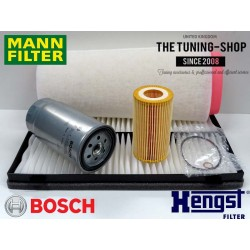 Premium Service Kit for Rover 75 CDT CDTI Diesel 99-05 Air Cabin Fuel Oil Filter Mann Bosch Hengst New