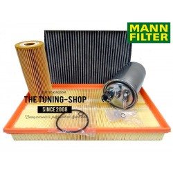 Premium Service Kit for Skoda Octavia MK1 1.9 TDI 100HP without aircon 00-10 Air Cabin Fuel Oil Filter Mann New