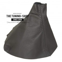 FOR ASTRA MK5 H 05-09 GEAR GAITER GREY LEATHER