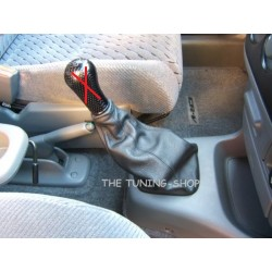 HONDA CR-V 1997-2001 LEATHER GEAR GAITER BLACK STITCHING
