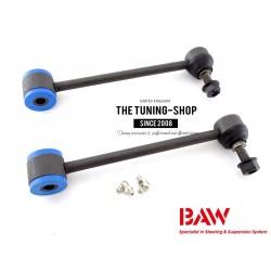 2x Suspension Stabilizer Bar Link Kit Rear Left + Right K6700 BAW For HUMMER H2 JEEP WRANGLER