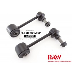 2x Suspension Stabilizer Bar Link Kit Front Left + Right K750453 BAW For JEEP WRANGLER 2007-2015