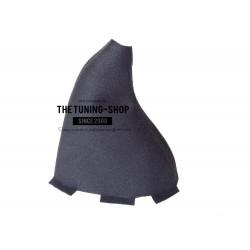 FOR  HONDA CIVIC & TYPE R GEAR GAITER SHIFT BOOT BLACK ALCANTARA NEW