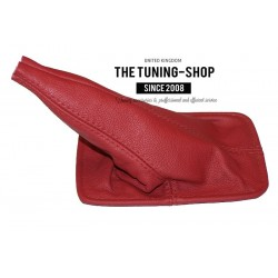 FOR  TOYOTA CELICA 94-98 GEAR GAITER RED LEATHER