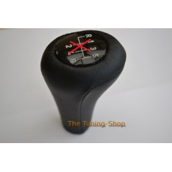 BMW E30 1982-1991 BLACK LEATHER COVER FOR GEAR KNOB