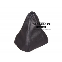 FOR FORD GALAXY MK3 BLACK LEATHER GEAR GAITER