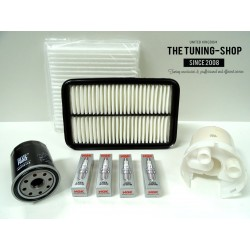 Premium Service Kit for Toyota Celica 1.8 16V TS 192HP 99-06 Air Cabin Oil Filters & Spark Plugs New