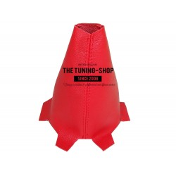 FOR HONDA ACCORD 2008-2012 LEATHER GEAR GAITER RED STITCHING