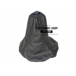 FOR LAND ROVER FREELANDER 98-03 GEAR GAITER SHIFT BOOT BLACK LEATHER