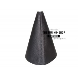 FOR RENAULT MEGANE MK3 2008-2015 GEAR GAITER SHIFT BOOT BLACK LEATHER