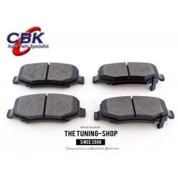 Rear Brake PadsD1274 CBK For DODGE NITRO JEEP LIBERTY WRANGLER