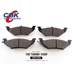 Rear Brake Pads D711 CBK For FORD EXPEDITION F-150 F-250 LINCOLN BLACKWOOD NAVIGATOR