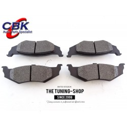 Rear Brake Pads D757 CBK For FORD EXCURSION FORD F-250 F-350  SUPER DUTY