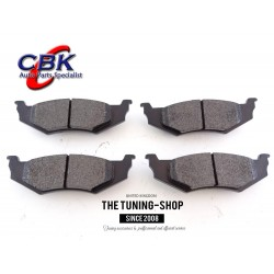 Rear Brake Pads D610 CBK For FORD TAURUS LINCOLN CONTINENTAL MERCURY SABLE
