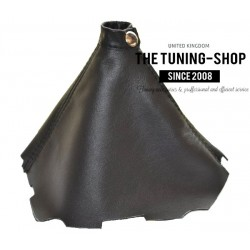 FOR HYUNDAI I30 2007-2011 GEAR GAITER BLACK LEATHER